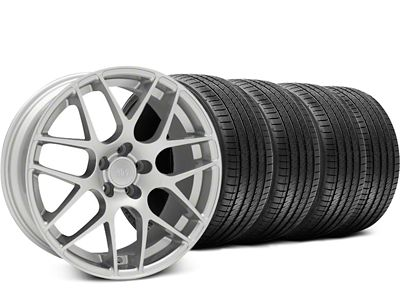 AMR Silver Wheel & Sumitomo Tire Kit - 18x9 (05-14 All, Excluding 13-14 GT500)
