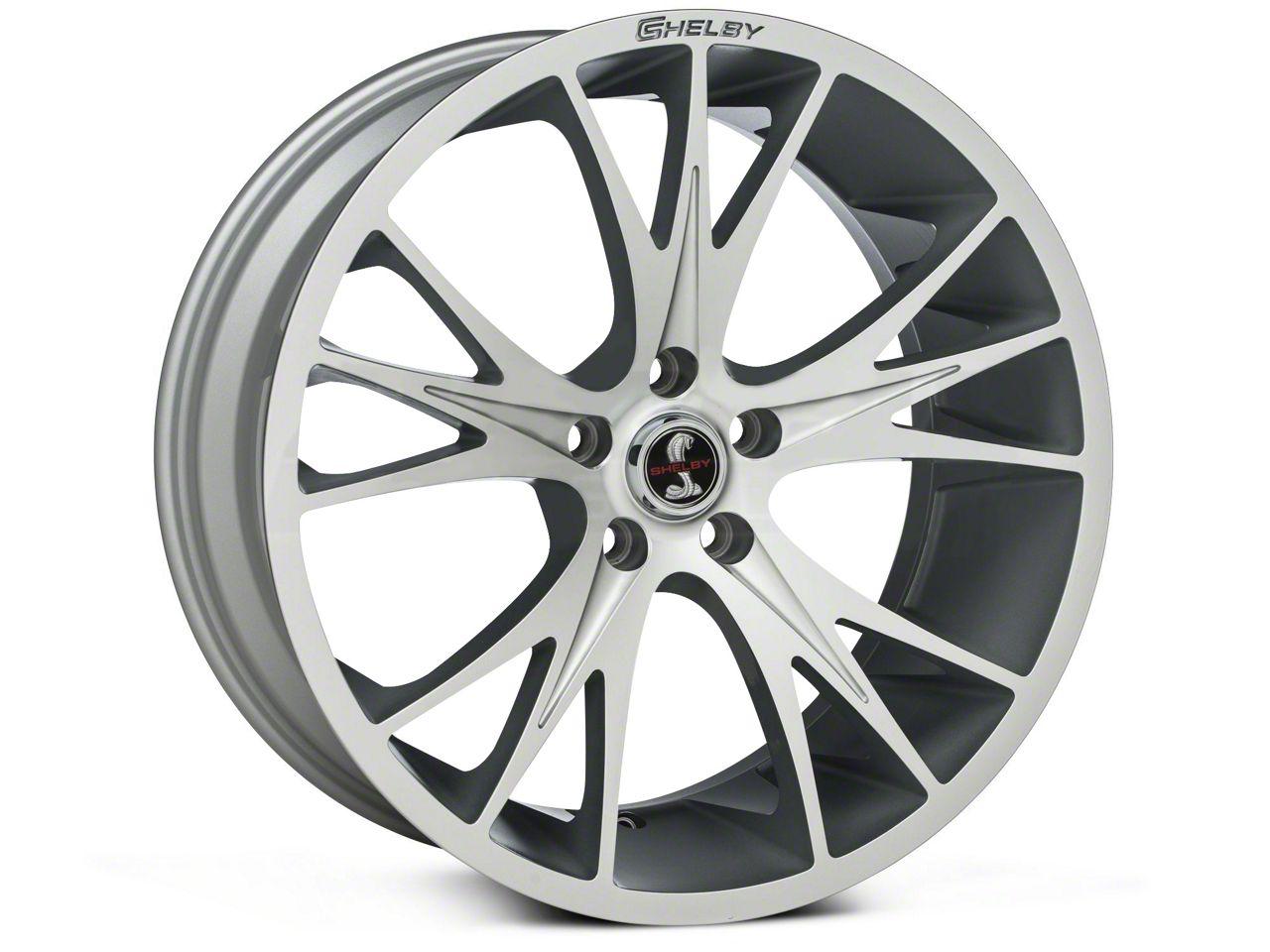 Shelby CS1 Hyper Silver Wheel - 20x9 (05-14 All)