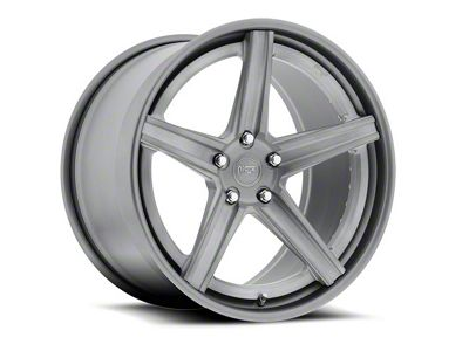 Niche Apex Machined Silver Wheel - 20x8.5 (15-19 GT, EcoBoost, V6)