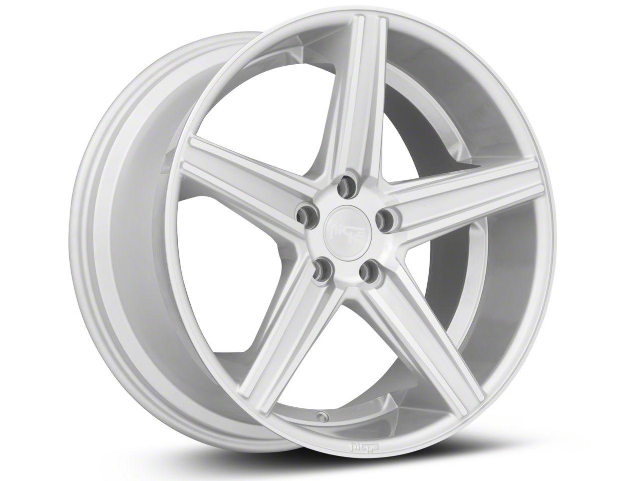 Niche Apex Machined Silver Wheel - 20x10 (15-19 GT, EcoBoost, V6)
