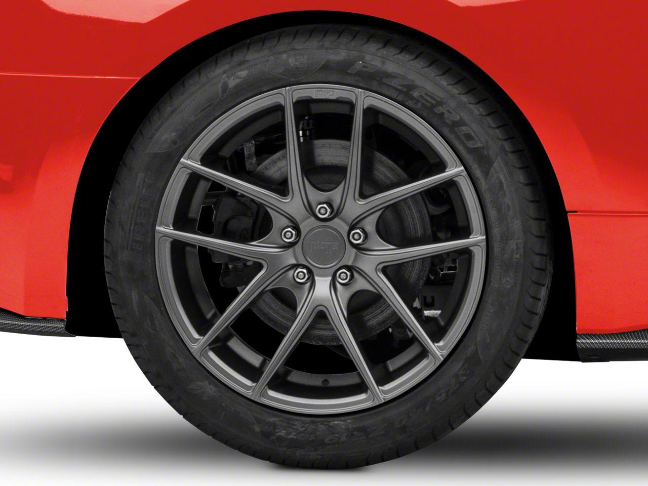 Niche Targa Matte Anthracite Wheel - 19x9.5 (15-19 GT, EcoBoost, V6)