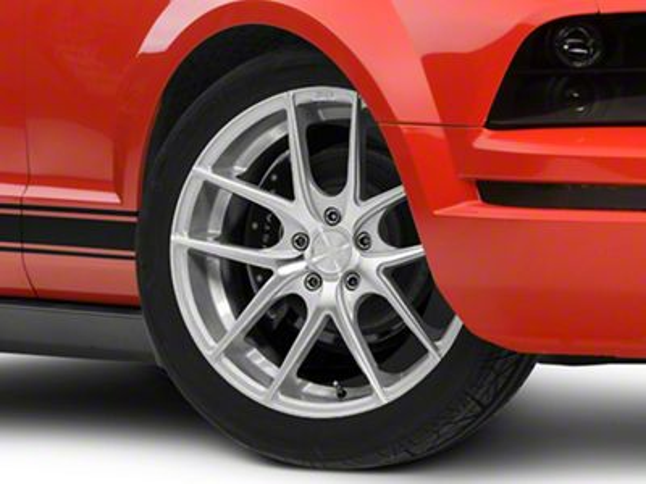 Niche Targa Matte Silver Wheel - 19x8.5 (05-14 Standard GT, V6)