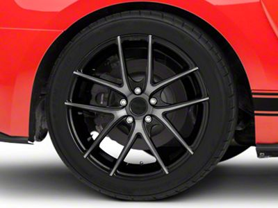 Niche Targa Matte Black Wheel - 19x9.5 - Rear Only (15-19 GT, EcoBoost, V6)