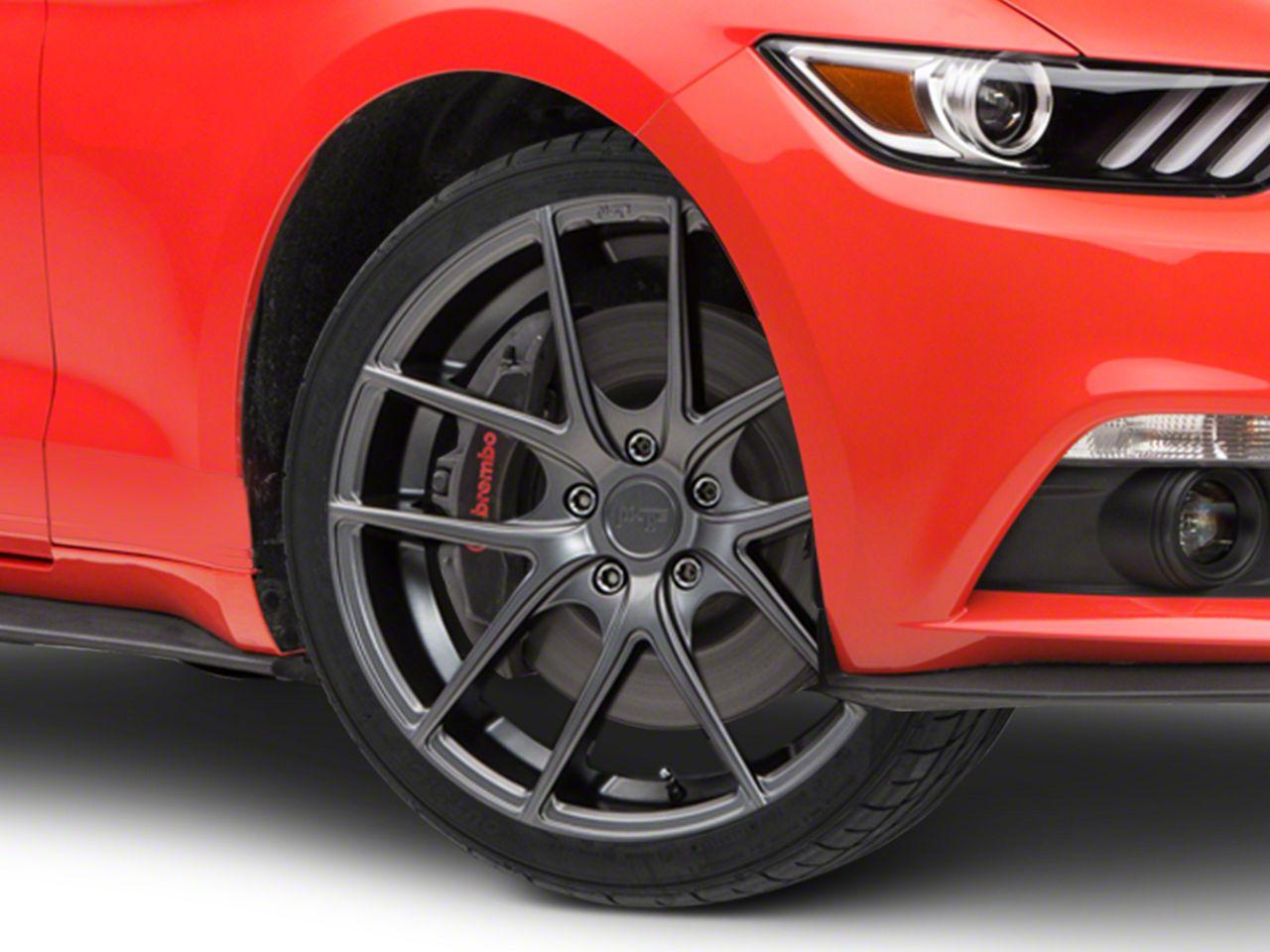 Niche Targa Matte Anthracite Wheel - 20x8.5 (15-19 GT, EcoBoost, V6)