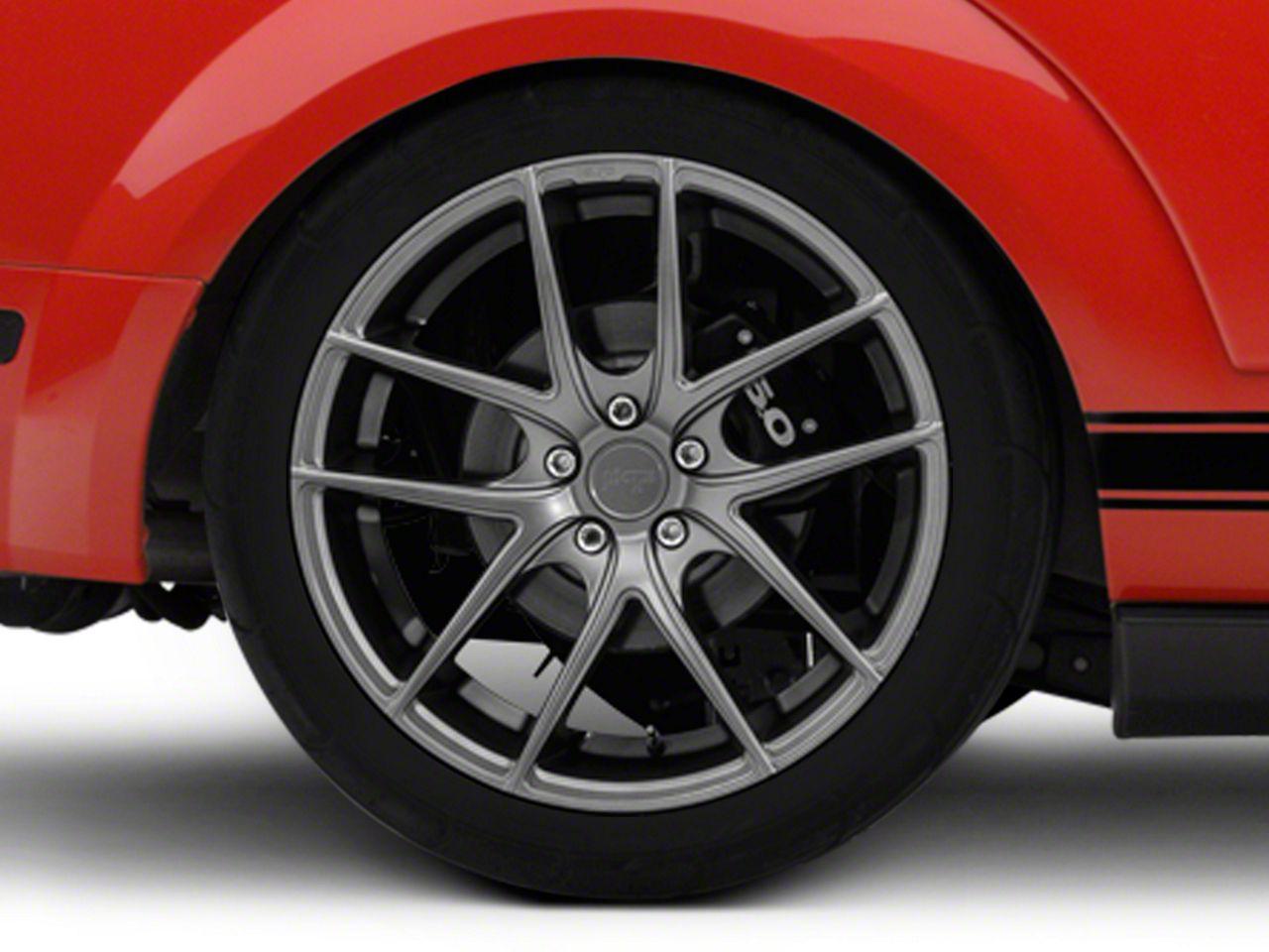 Niche Targa Matte Anthracite Wheel - 20x10 - Rear Only (05-14 All)