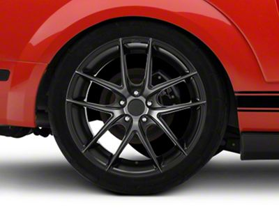 Niche Targa Matte Black Wheel - 20x10 - Rear Only (05-14 All)