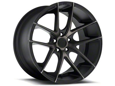 Niche Targa Matte Black Wheel - 20x10 - Rear Only (15-19 GT, EcoBoost, V6)