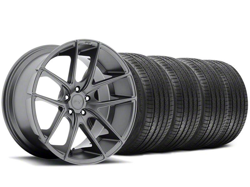 Niche Targa Matte Anthracite Wheel & Sumitomo Tire Kit - 20x8.5 (05-14 All)