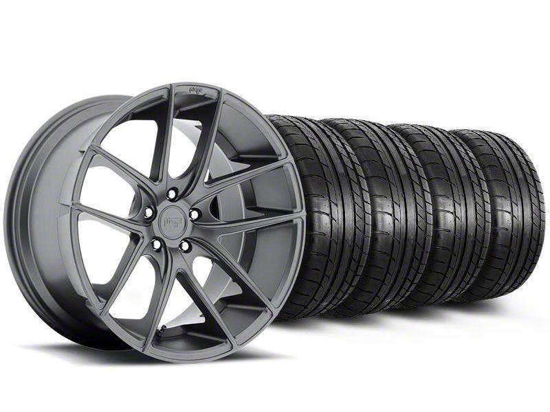 Niche Targa Matte Anthracite Wheel & Mickey Thompson Tire Kit - 20x8.5 (05-14 All)