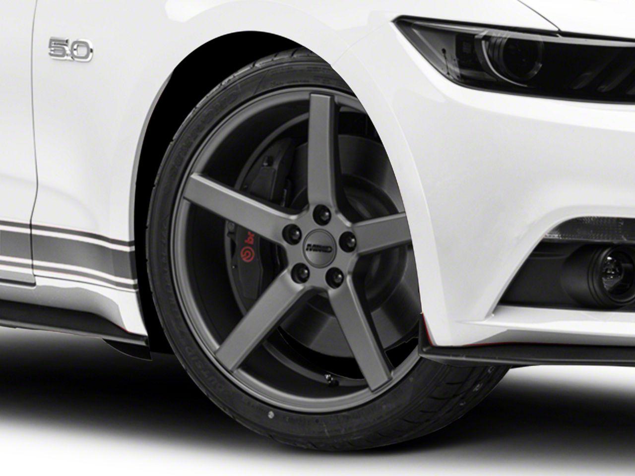 MMD 551C Charcoal Wheel - 20x8.5 (15-19 GT, EcoBoost, V6)