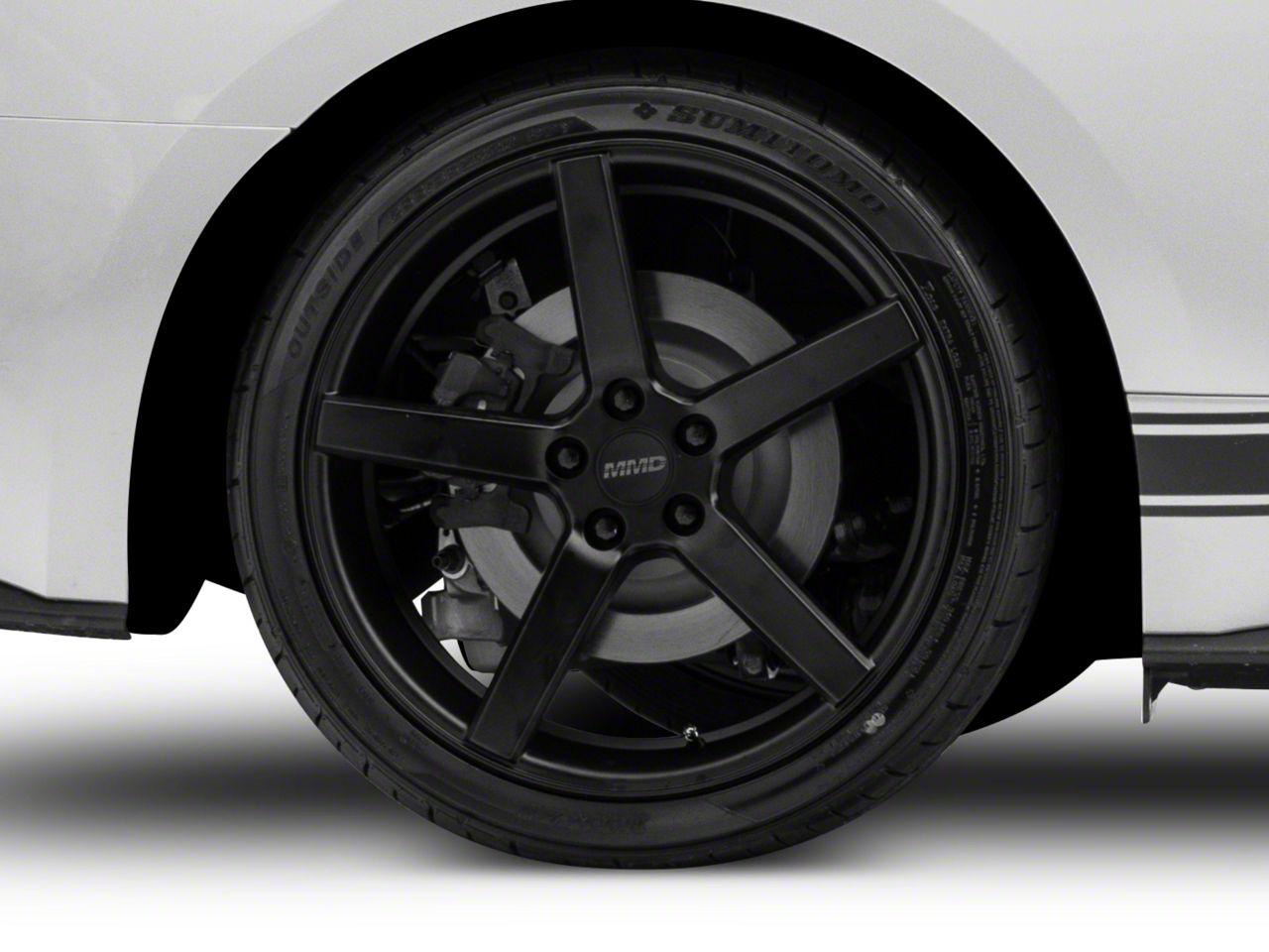MMD 551C Matte Black Wheel - 20x10 (15-19 GT, EcoBoost, V6)