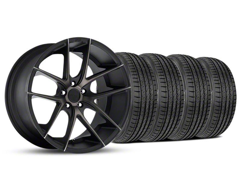 Niche Targa Matte Black Wheel & Sumitomo Tire Kit - 19x8.5 (05-14 All)