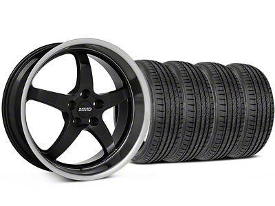 MMD Kage Black Wheel & Sumitomo Tire Kit - 19x8.5 (05-14 GT, V6)