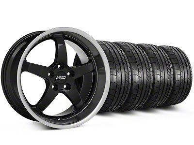 MMD Kage Black Wheel & Mickey Thompson Tire Kit - 19x8.5 (05-14 GT, V6)