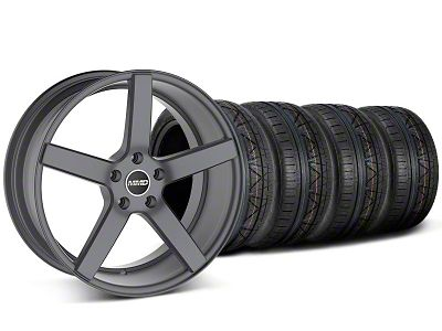 MMD 551C Charcoal Wheel & Mickey Thompson Tire Kit - 20x8.5 (05-14 All)