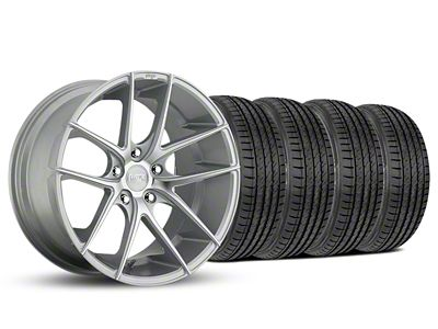 Staggered Niche Targa Matte Silver Wheel & Sumitomo Tire Kit - 19x8.5/9.5 (05-14 All)