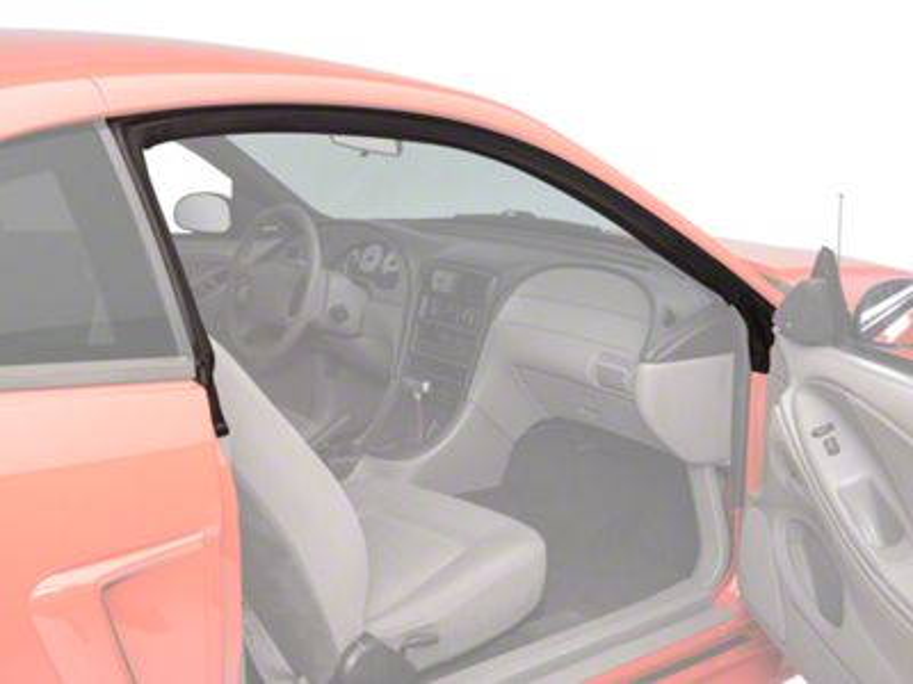 OPR Door Seal Weatherstripping Kit - Upper Driver & Passenger (94-04 All)