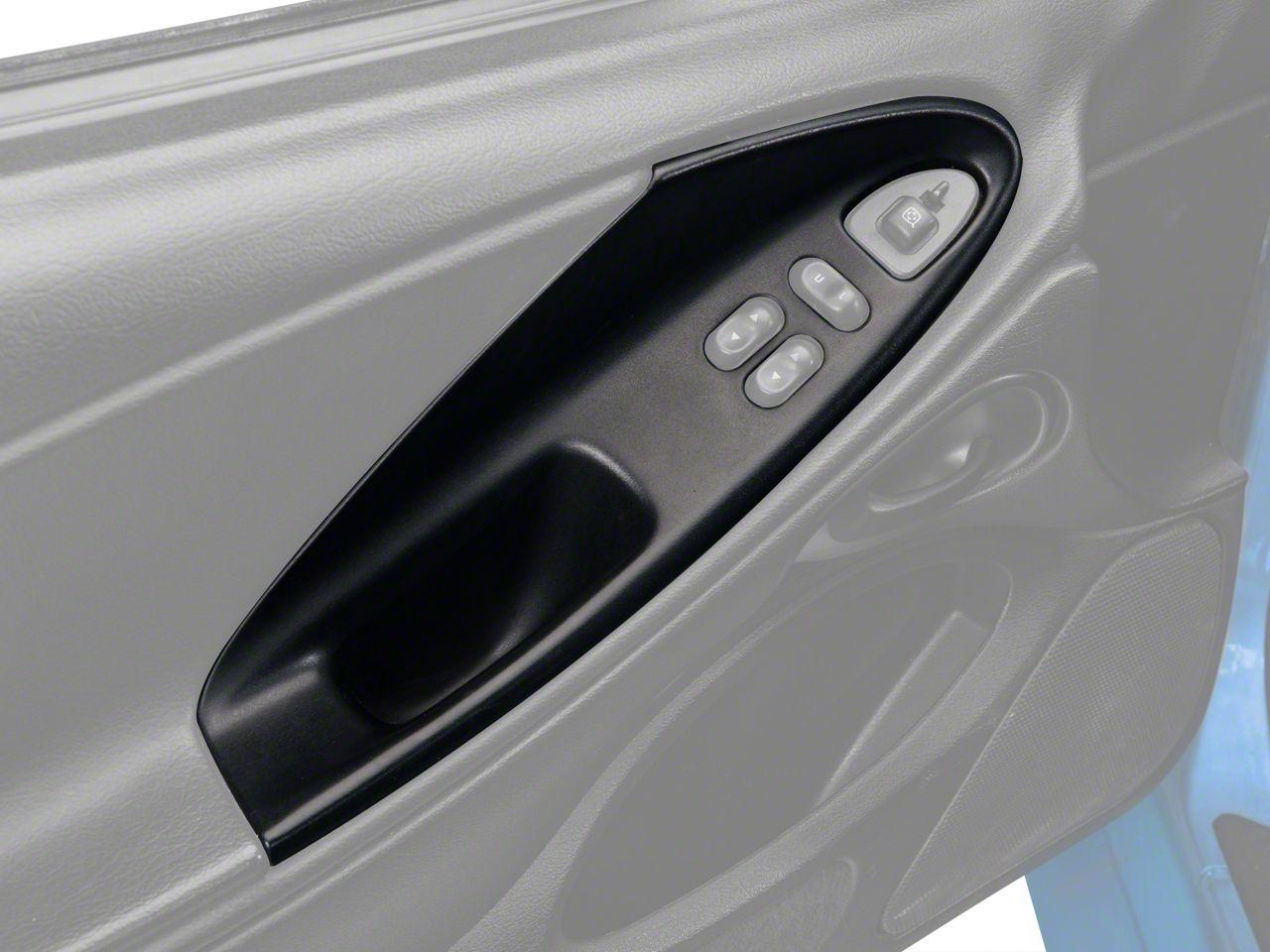 OPR Charcoal Door Panel Insert - Left Side (94-04 Coupe)