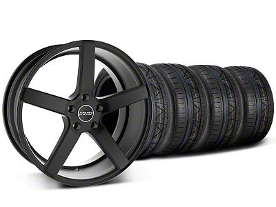 Staggered MMD 551C Black Wheel & NITTO INVO Tire Kit - 20x8.5/10 (05-14 All)