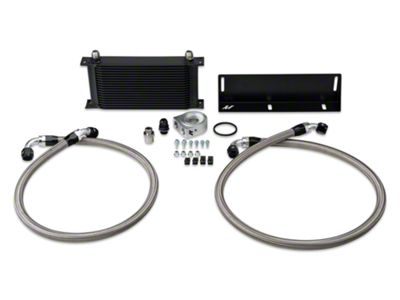 Mishimoto Direct-Fit Performance Oil Cooler - Black (79-93 5.0L)