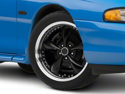 Bullitt Motorsport Black Wheel - 18x9 (94-04 All)