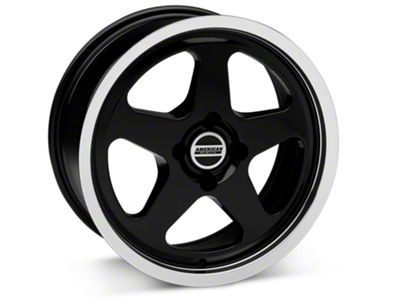 SC Style Black Wheel - 17x8 (87-93 All, Excluding Cobra)