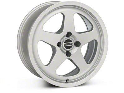 SC Style Silver Wheel - 17x8 (87-93 All, Excluding Cobra)