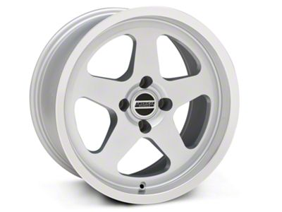 SC Style Silver Wheel - 17x9 (87-93 All, Excluding Cobra)