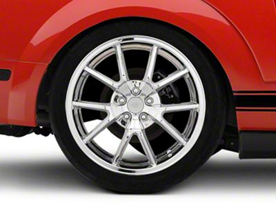 FR500 Style Chrome Wheel - 20x10 - Rear Only (05-14 All)