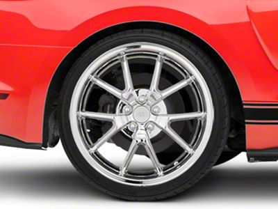 FR500 Style Chrome Wheel - 20x10 - Rear Only (15-19 GT, EcoBoost, V6)