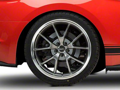 FR500 Style Anthracite Wheel - 20x10 - Rear Only (15-19 GT, EcoBoost, V6)
