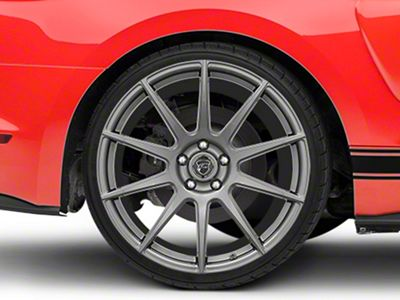 Forgestar CF10 Monoblock Gunmetal Wheel - 20x11 - Rear Only (15-19 GT, EcoBoost, V6)