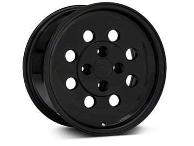 Classic Drag Black Wheel - 15x8 - Rear Only (79-93 All; Excluding Cobra)