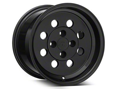 Classic Drag Black Wheel - 15x10 - Rear Only (79-93 All; Excluding Cobra)