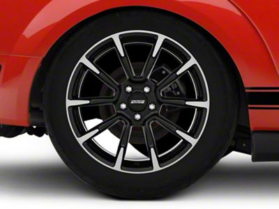 11/12 GT/CS Style Black Machined Wheel - 19x10 - Rear Only (05-14 All)
