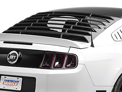 Louvers - Rear Window<br />('10-'14 Mustang)
