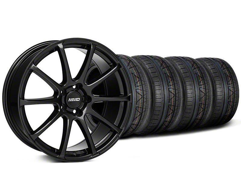 MMD Axim Gloss Black Wheel & NITTO INVO Tire Kit - 20x8.5 (05-14 All)