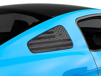 Quarter Window Covers & Decals<br />('10-'14 Mustang)