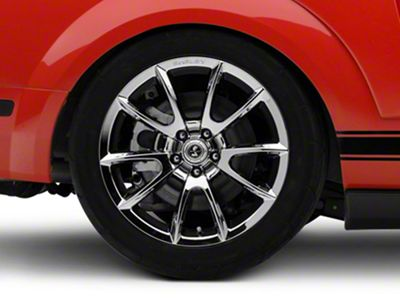 Shelby Super Snake Style Chrome Wheel - 19x10 - Rear Only (05-14 All)