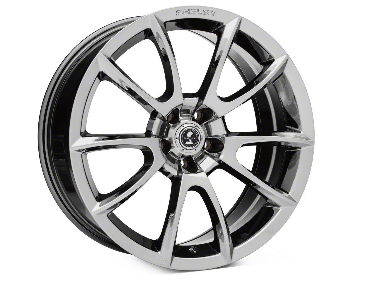 Super Snake Style Chrome Wheel - 20x9 (05-14 All; 15-19 GT, EcoBoost, V6)
