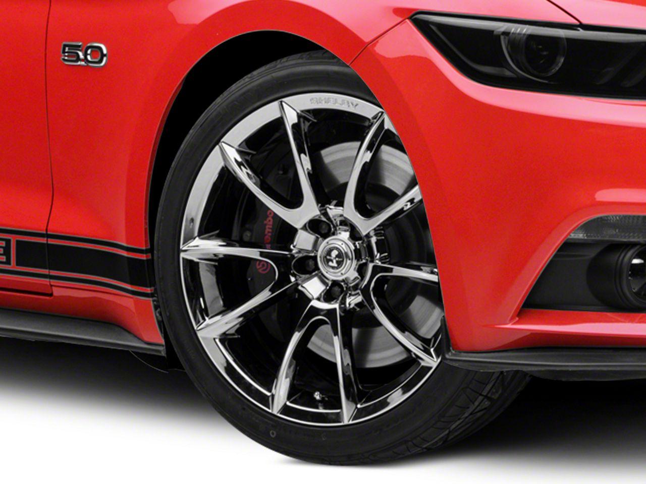 Shelby Super Snake Style Chrome Wheel - 20x9 (15-19 GT, EcoBoost, V6)