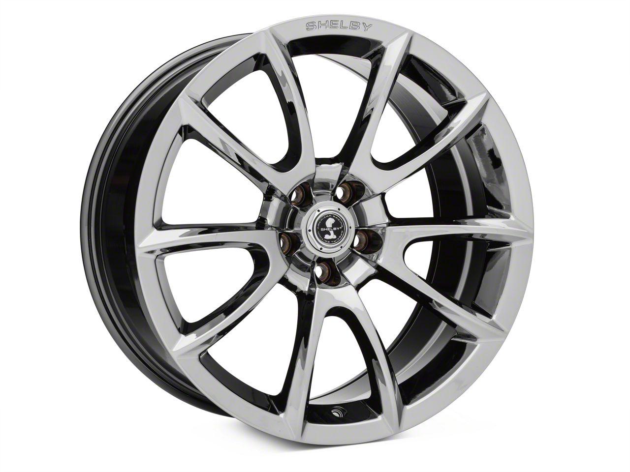 Super Snake Style Chrome Wheel - 20x10 (05-14 All; 15-19 GT, EcoBoost, V6)