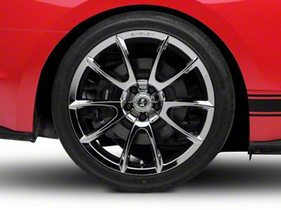 Shelby Super Snake Style Chrome Wheel - 20x10 - Rear Only (15-19 GT, EcoBoost, V6)