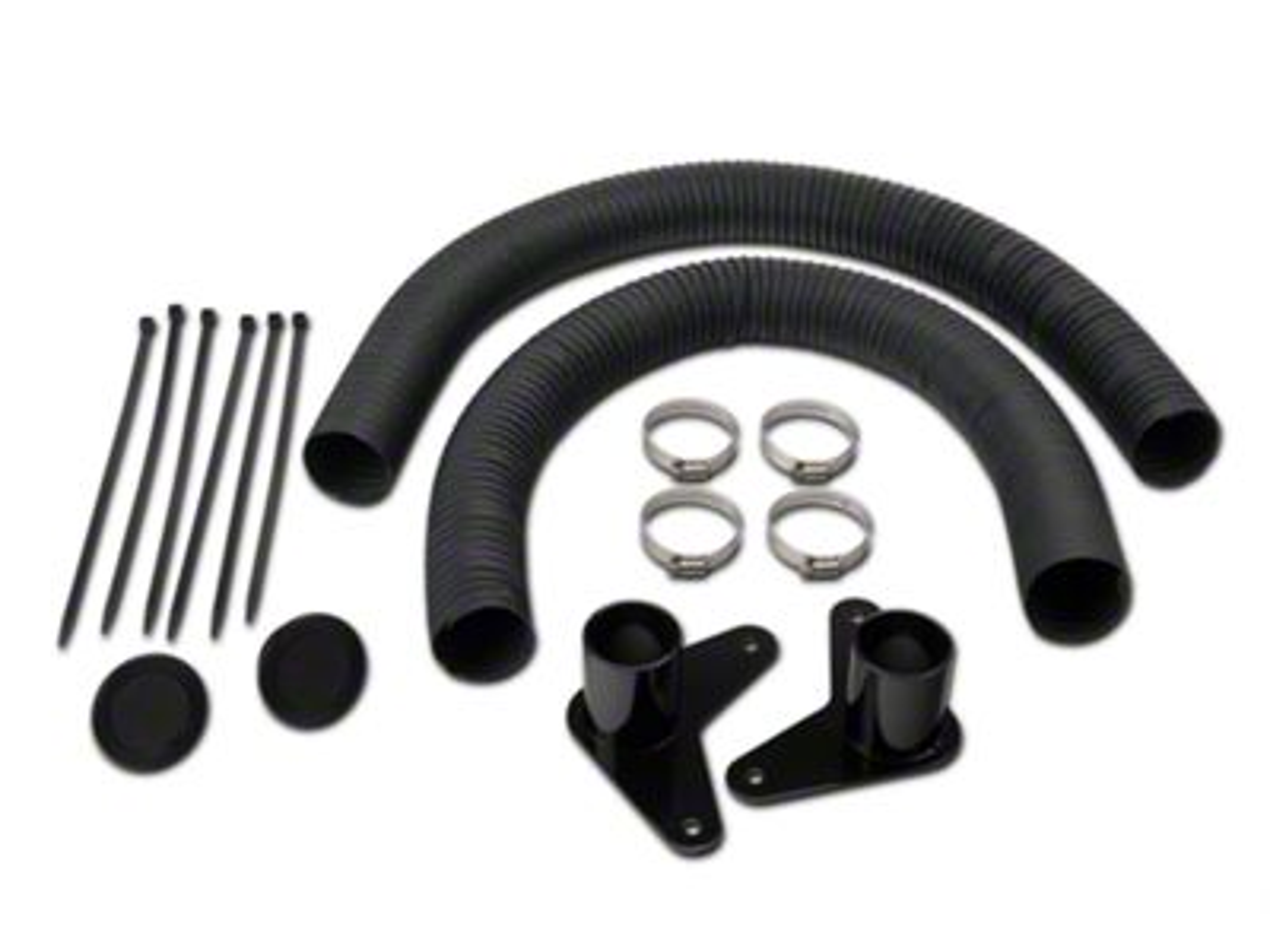 JLT Brake Cooling Kit - Black Bezels (07-09 GT500)