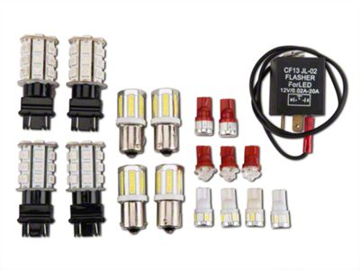 Axial Exterior LED Conversion Upgrade Kit (Late 87-88 All)