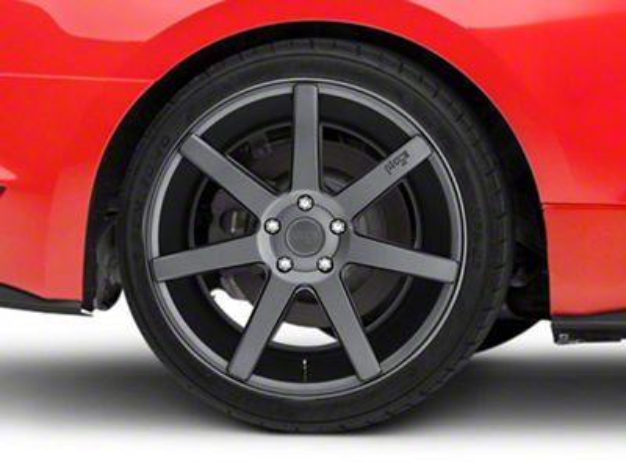 Niche Verona Anthracite Wheel - 20x10 - Rear Only (15-19 GT, EcoBoost, V6)