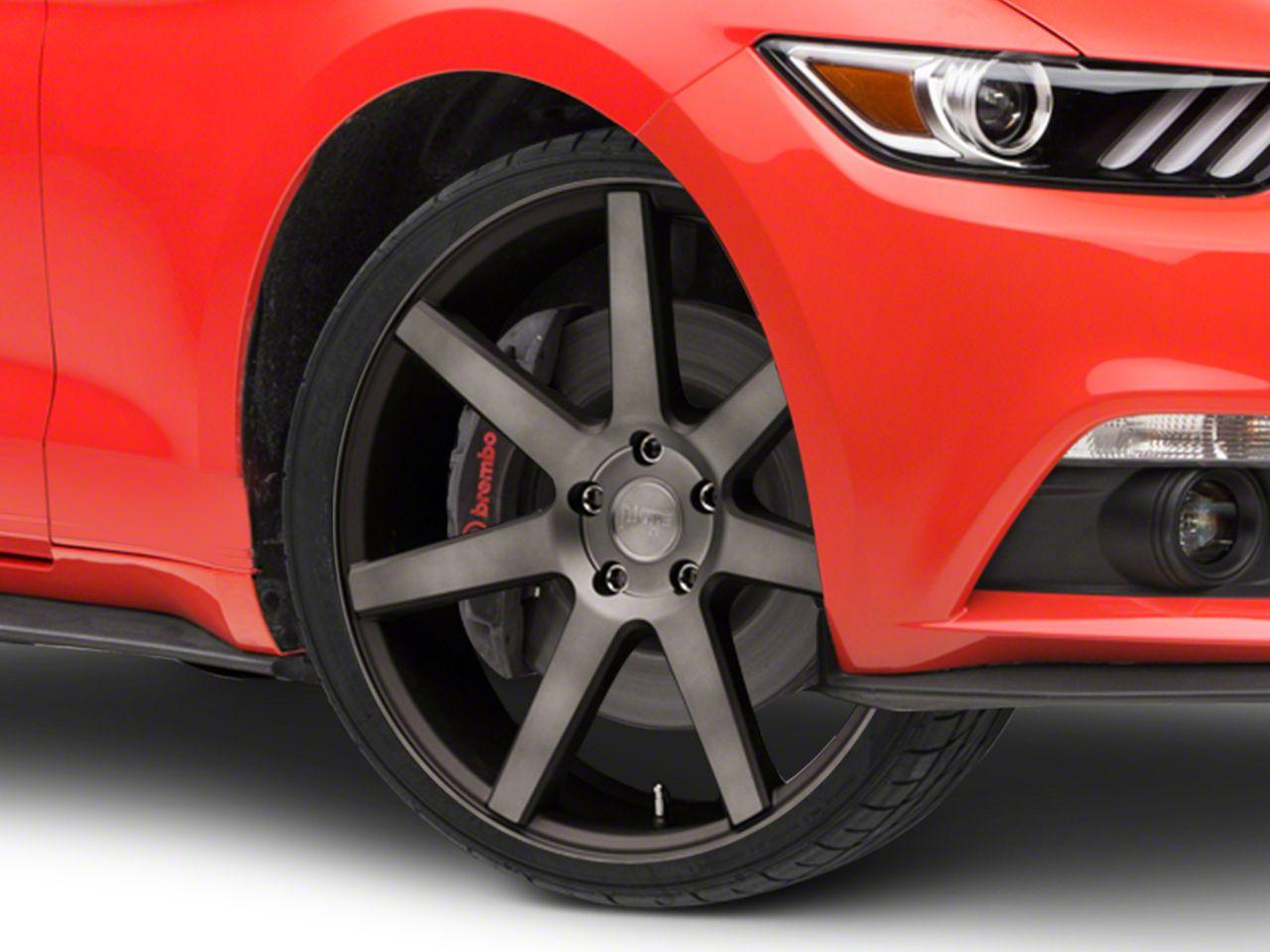 Niche Verona Double Dark Wheel - 20x9 (15-19 GT, EcoBoost, V6)