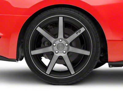 Niche Verona Double Dark Wheel - 20x10 - Rear Only (15-19 GT, EcoBoost, V6)