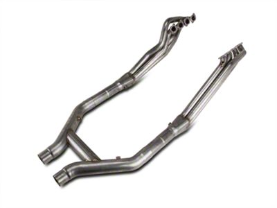 Stainless Works 1-7/8 in. Long Tube Headers & Off-Road H-Pipe Kit (11-14 GT500)
