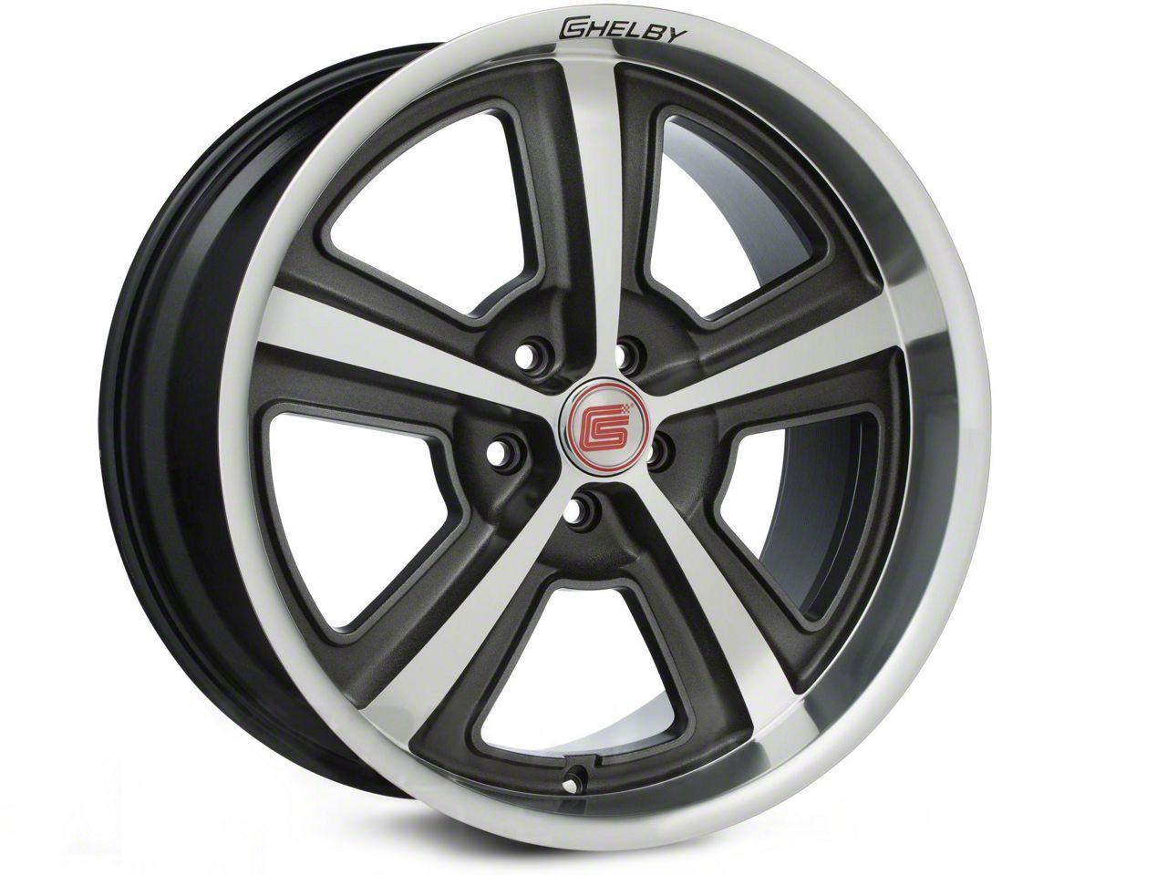 Shelby CS69 Hyper Black Wheel - 20x10 (15-17 All)